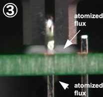"3. Applying ""Atomized Flux"""